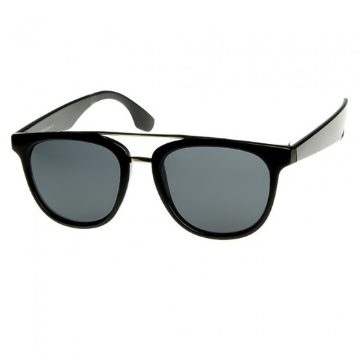 Sunglasses KISS® - mod. COLOSSAL Aviator style - men women, VINTAGE superb glamour TOP GUN