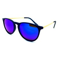 Sunglasses KISS® - mod. PARTY IBIZA Mirrored - Lenses FIRE DISC man woman unisex