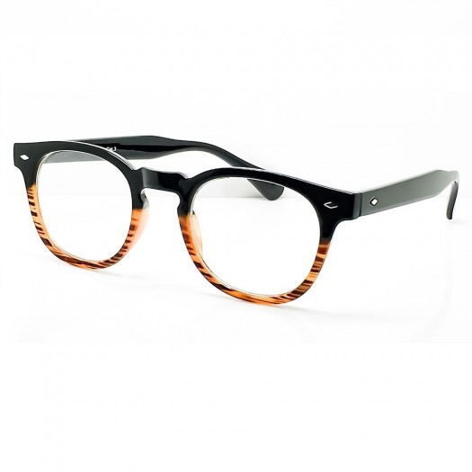 Glasses neutral KISS® - style MOSCOT Johnny Depp - frame, with a REAR view man women clear glasses