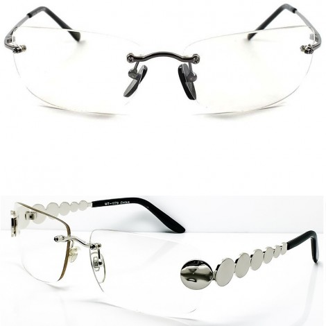 Glasses neutral CULT MOVIE - style MATRIX AGENT SMITH - optical frame VINTAGE man woman SQUARE unisex