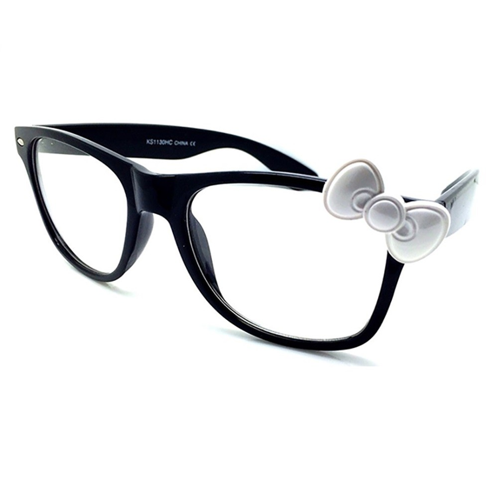 wayfarer optical frames  Neutral HELLO KITTY style WAYFARER sunglasses-KISS 庐-optical frame...