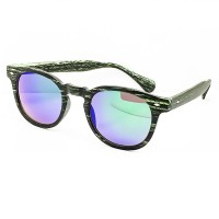 """Sunglasses KISS® Line of """"WOOD"""" - style MOSCOT mod. DEPP in a Mirror - VINTAGE Johnny Depp man woman CULT unisex"""