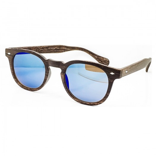 "Sunglasses KISS® Line of ""WOOD"" - style MOSCOT mod. DEPP in a Mirror - VINTAGE Johnny Depp man woman CULT unisex"