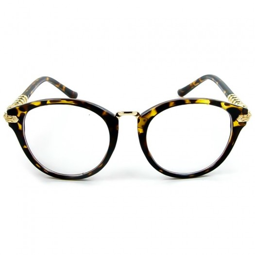 Glasses neutral KISS® - PURE RETRO LIMITED STYLE eyewear ROUND man women clear glasses