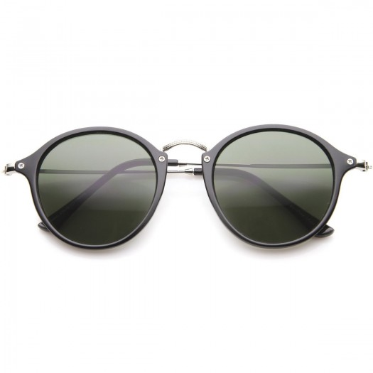 Sunglasses KISS® - mod. FLAT round - VINTAGE Johnny Depp man woman CULT unisex