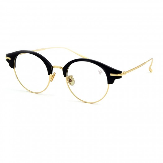 Glasses neutral MYRETRO® - mod. BELLEVILLE - man woman ROUND frame, with a view VINTAGE