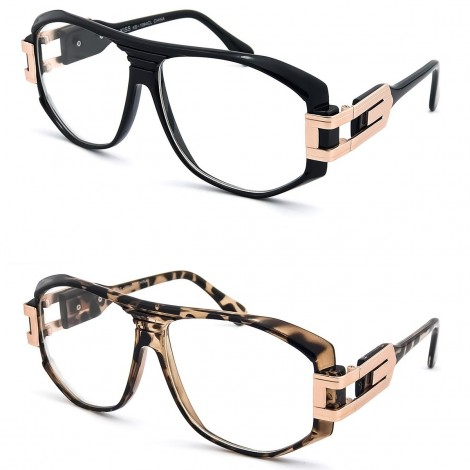 Occhiali neutri KISS® - stile CAZAL 607 Old School - montatura da vista RETRO HIP-HOP Rapper clear glasses
