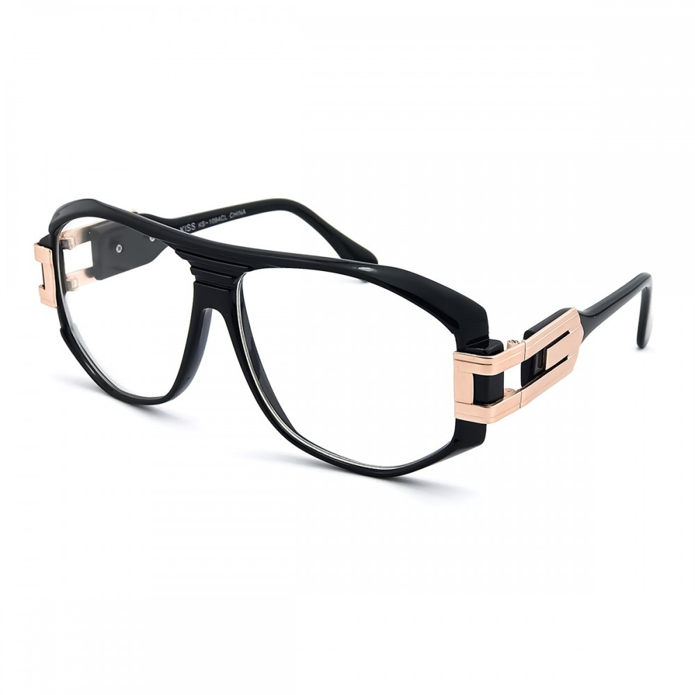 Glasses neutral KISS® - mod. OLD SCHOOL Special - frame RETRO...