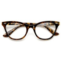 Occhiali neutri KISS® - mod. PIN-UP CAT EYE - montatura da vista DONNA cult Rockabilly vintage