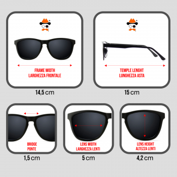 Glasses Driving at Night KISS® - DRIVING mod. BLUES BROTHERS - auto moto SPECIAL man woman VINTAGE