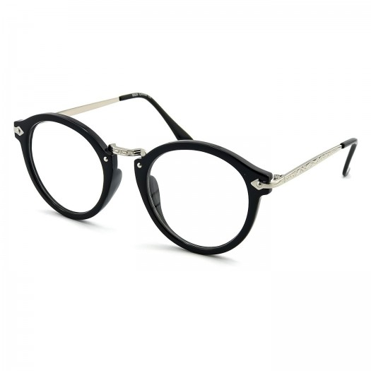 Glasses neutral KISS® - style MOSCOT mod. FLAT - optical frame VINTAGE man woman unisex
