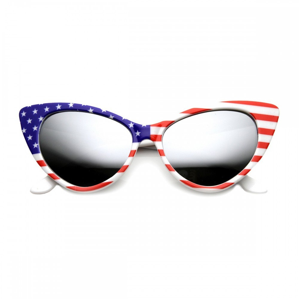 Gafas de sol KISS® - Cat Eye mod. PRINCESS USA - vintage rockabilly fashion MUJER EMOCIONANTE