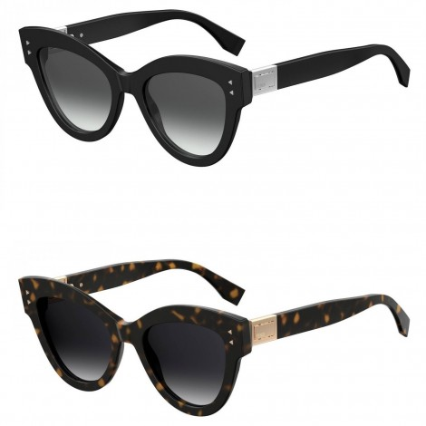 Sunglasses FENDI® - FF 0266/S mod. PEEKABOO - glamour vintage WOMAN CAT EYE oversize fashion HIGH FASHION