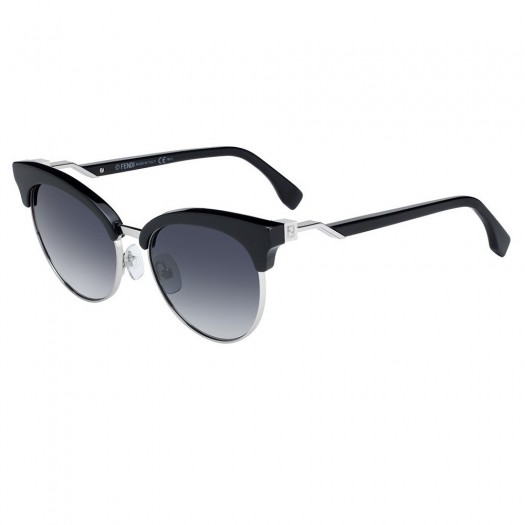 Sunglasses FENDI® - FF 0229/S mod. CUBE - luxury vintage WOMAN butterfly fashion HIGH FASHION