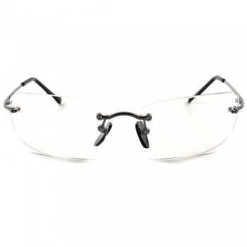 Neutral glasses CULT MOVIE - style MATRIX SMITH AGENT - optical frame VINTAGE man woman SQUARE unisex