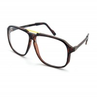 Glasses neutral KISS® - mod. MCQUEEN CULT - man woman MOVIE STAR optical frame VINTAGE aviator style