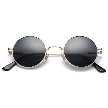 Sunglasses ROUND Hippie - style TEASHADES John Lennon - Metal Light VINTAGE man woman