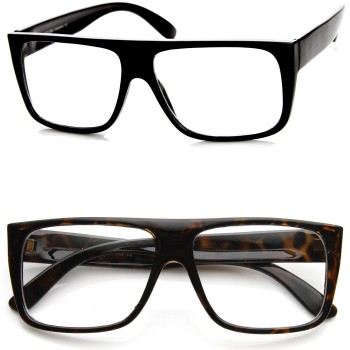 Glasses neutral KISS® - Flat Top mod. JACOB - optical frame VINTAGE man woman SUPER