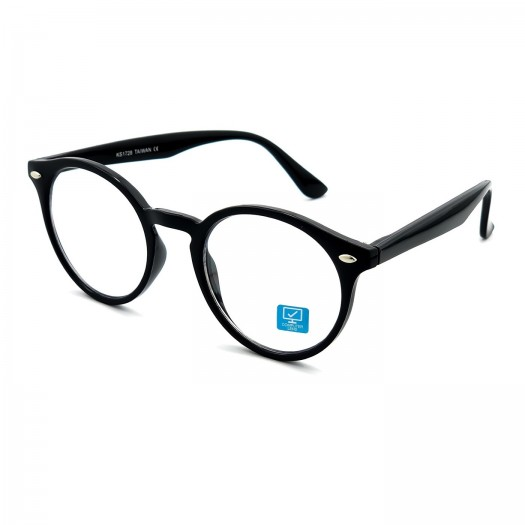 Lunettes neutres KISS® avec BLUE LIGHT FILTER - Antireflet mod. WAVE ICONIC - Anti-fatigue et relaxant - PC, TV, Gaming