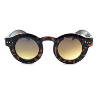Sunglasses KISS® - style MOSCOT mod. MAJESTIC - man woman ROUND vintage glamour FRAME THICK unisex