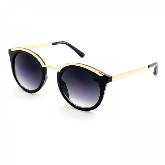 Sunglasses KISS® - Woman mod. LADY MARMALADE - Limited Edition PURE VINTAGE fashion round GLAMOR