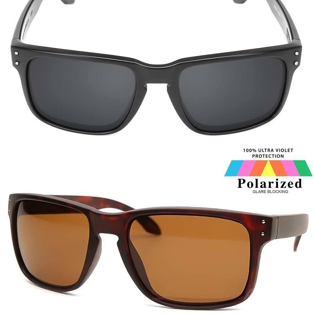 Occhiali da sole KISS® - POLARIZZATI stile HOLBROOK Racing - moto auto SPORT Polarized sunglasses