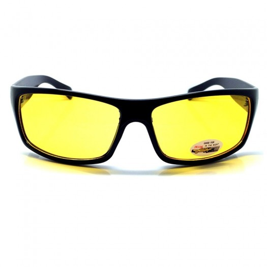 Driving Glasses at Night KISS® - Driving mod. BOND 007 - car motorcycle SPECIAL man woman VINTAGE