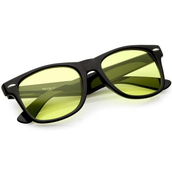 Glasses Night Driving KISS® - DRIVING mod. BLUES BROTHERS - auto moto SPECIAL man woman VINTAGE
