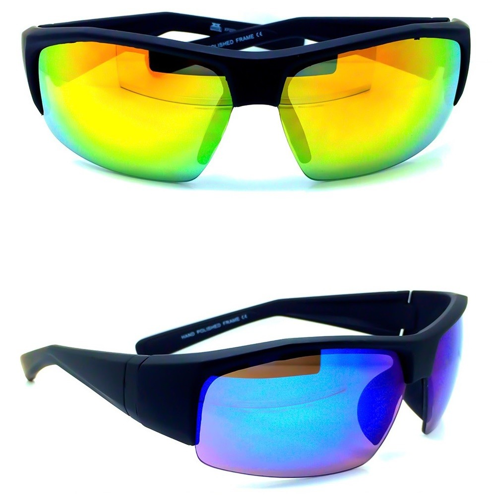 Lunettes de soleil sportives KISS® - CYCLISME mod. MTB BASIC - outdoor biker EASY FIT bike unisex